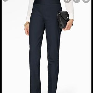 Talbots navy skinny ankle pants 8